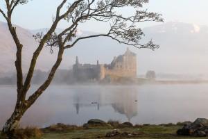 Exploring the castles near Glenstrae Scottish Holiday Lodge