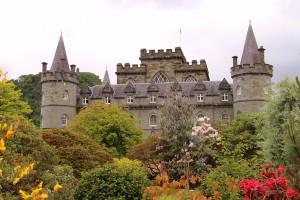 Inveraray, Castle near Glenstrae Scottish Holiday Lodge