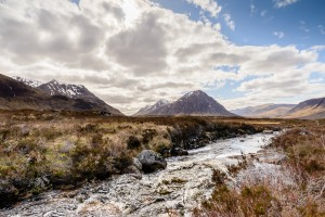 Glen Coe in the highlands at Glenstrae Scottish Holiday Lodge - Buachaille Etive Beag