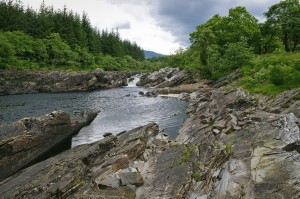 Glen Orchy in the highlands at Glenstrae Scottish Holiday Lodge