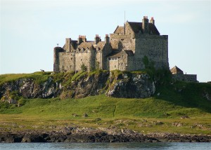 Duart Castle, Mull near Glenstrae Scottish Holiday Lodge