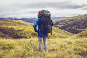 Walking in the highlands at Glenstrae Scottish Holiday Lodge